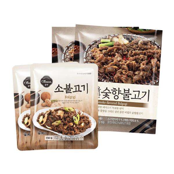 [무료배송] 신세계 푸드 올반키친 불고기 2종 (소불고기/숯향불고기)
