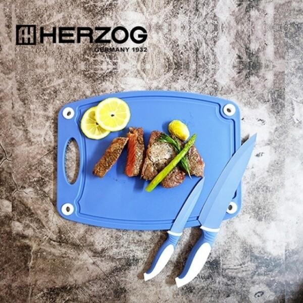독일 HERZOG 헤르조그 칼, 도마 3종세트