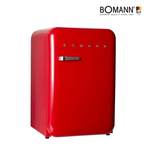 [BOMANN] 저소음 저전력 에너지효율1등급 ~ 보만 레트로 미니냉장고 106L 전국무료배송