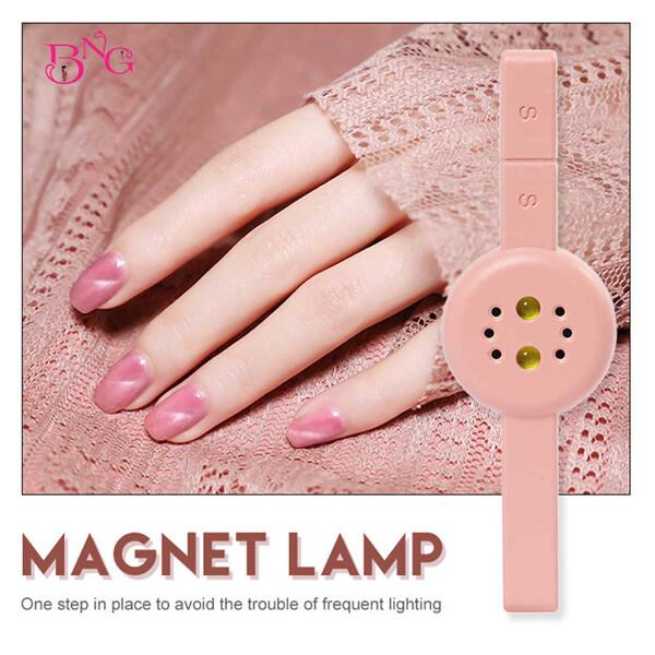 네일건조 마그네틱 램프 핑크 (본체+5핀케이블)