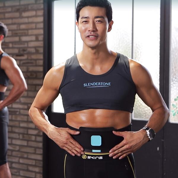 [얼리찬스!~01/19까지]  [확찐자를 위한! 사전예약 수퍼찬스!] 복부 집중 운동기 슬렌더톤 ABS8 EMS 홈트레이닝