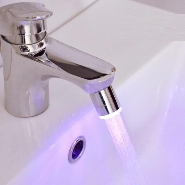 인스타 셀럽 추천! 플로루찌 스마트 워터탭 LED 수온센서 염소제거 녹물제거 세면대필터 (필터포함)