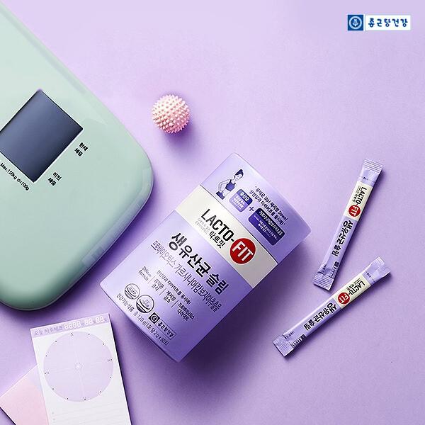 1초에 1개씩 판매되는 대한민국 1등 유산균!! 종근당건강 락토핏 3종 택1 (그린,슬림,골드)_리씽크팀