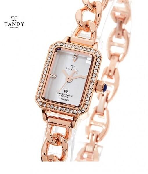 텐디 정품 다이아몬드 팔찌시계  T-4035_리씽크팀