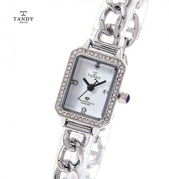 [사전예약~04/15일부터 순차발송]  텐디 정품 다이아몬드 팔찌시계  T-4035