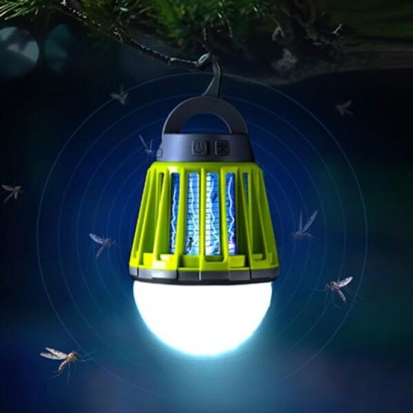 누적판매 10만개 돌파!! 모기잡는 LED 캠핑랜턴! 차박 휴대용 낚시 감성 랜턴_리씽크팀