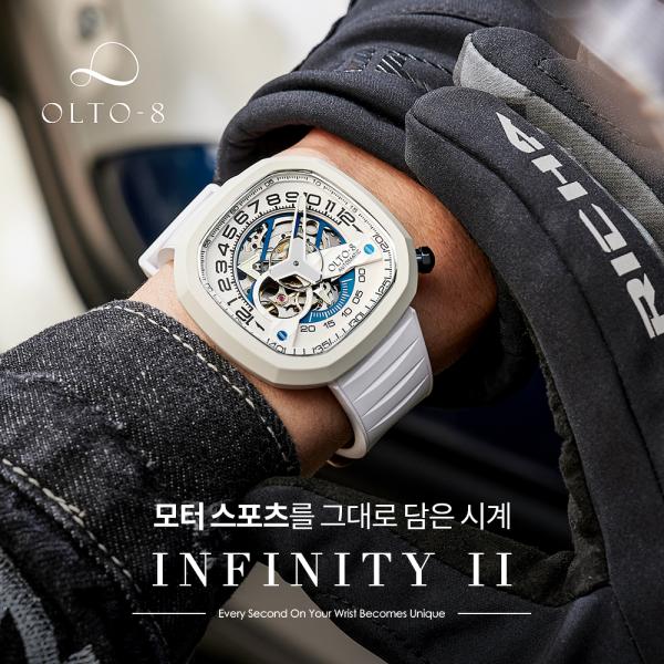 크라우드 펀딩 이슈!! 평점 5점만점 시계!! OLTO-8  Infinity II_리씽크팀