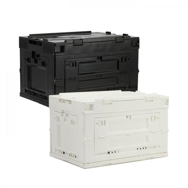 위저드 트렌스폼 다용도 폴딩박스 50L (블랙, 화이트)