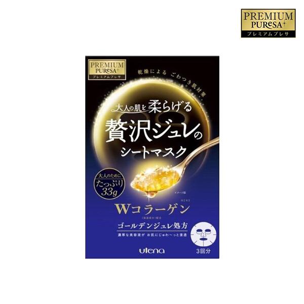 PREMIUM PURESA 프리미엄 프레사 Golden Jelly Mask 콜라겐 3매 (면세점재고)