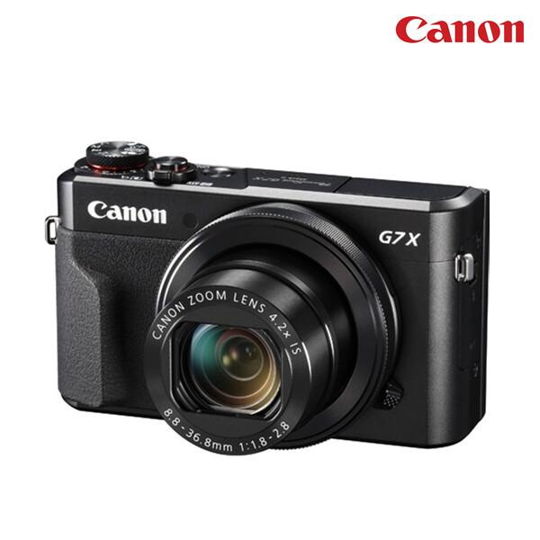 [얼리찬스!~03/9까지]  CANON 캐논 카메라 파워샷 G7 X Mark II(면세점재고 / 해외구매대행)