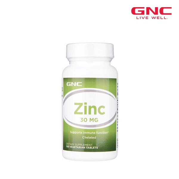 [1+1]동일상품 2개발송! GNC 지앤씨 ZINC 30 아연 30mg (면세점재고 / 해외구매대행)