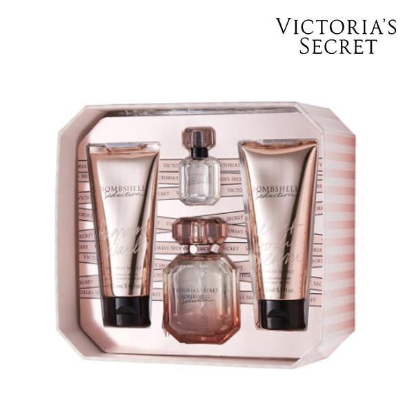 Victorias Secret 빅토리아 시크릿 SEDUCTION MEDIUM BOX OS 향수/바디크림/바디워시 세트 (면세점재고 / 해외구매대행)