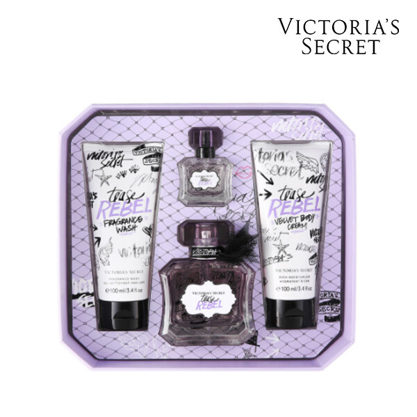 Victorias Secret 빅토리아 시크릿 TEASE REBEL MEDIUM BOX OS 향수/바디크림/바디워시 세트 (면세점재고 / 해외구매대행)