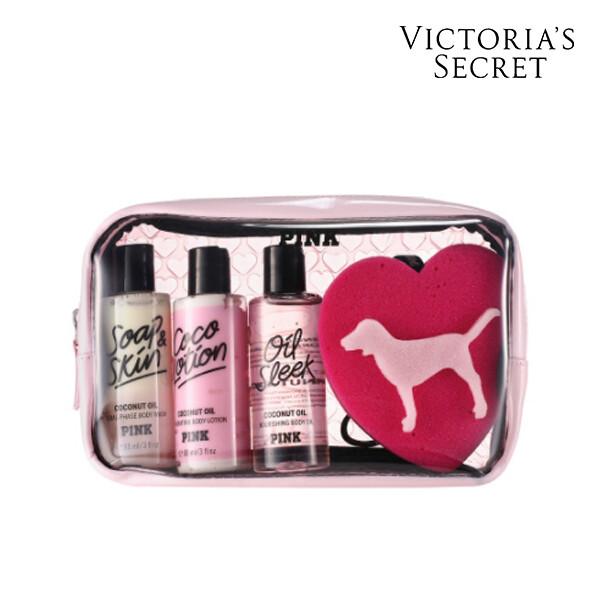 Victorias Secret 빅토리아 시크릿 ASSORTED COFFRET OS 로션/바디워시/바디오일 세트 (면세점재고 / 해외구매대행)
