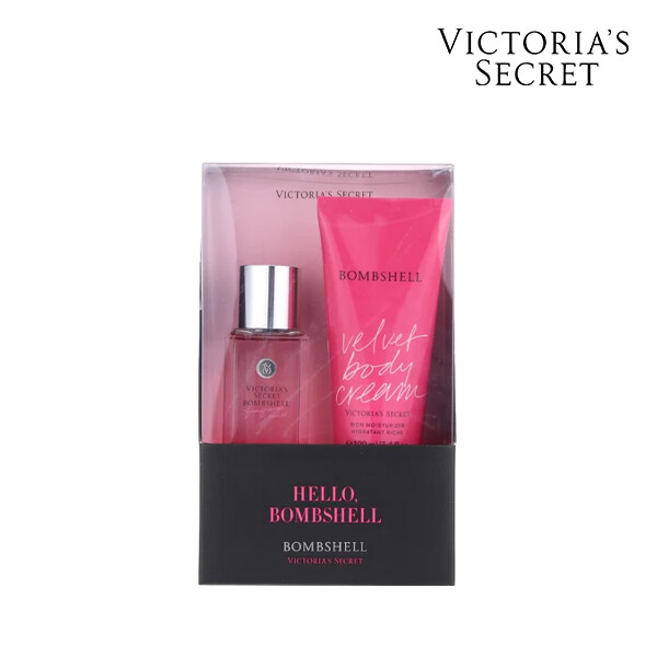 Victorias Secret 빅토리아 시크릿 VS BOMBSHELL GIFTABLE OS 미스트/바디크림 세트 (면세점재고 / 해외구매대행)