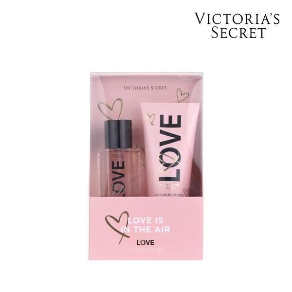 Victorias Secret 빅토리아 시크릿 LOVE GIFTABLE OS 미스트/바디크림 세트 (면세점재고 / 해외구매대행)