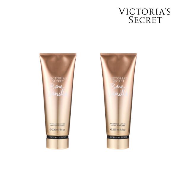 [1+1] Victorias Secret 빅토리아 시크릿 BARE VANILLA BODY LOTION  로션 236ML (면세점재고 / 해외구매대행 )