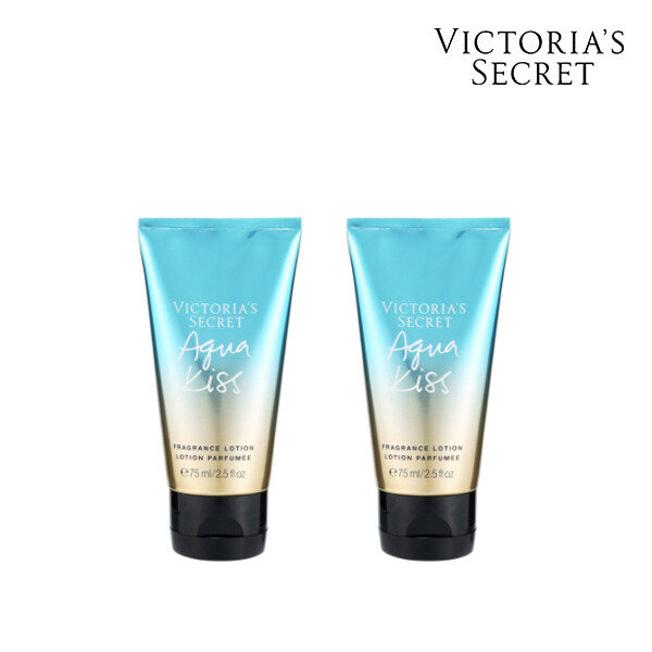 [1+1] Victorias Secret 빅토리아 시크릿 AQUA KISS TRAVEL LOTION 로션 75ML (면세점재고 / 해외구매대행)