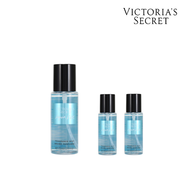 [1+2] Victorias Secret 빅토리아 시크릿 AQUA KISS Travel Mist 미스트 75ML(면세점재고 / 해외구매대행)