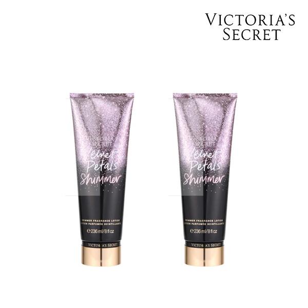 [1+1] Victorias Secret 빅토리아 시크릿 VELVET PETALS SHIMMER BODY LOTION 로션 236ML (면세점재고 / 해외구매대행 )