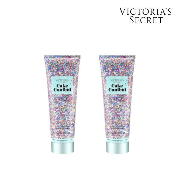 [1+1] Victorias Secret 빅토리아 시크릿 CAKE CONFETTI BODY LOTION  로션 236ML (면세점재고 / 해외구매대행 )