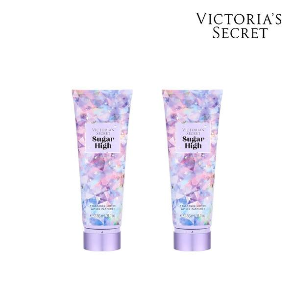 [1+1] Victorias Secret 빅토리아 시크릿 SUGAR HIGH BODY LOTION 로션 236ML (면세점재고 / 해외구매대행 )