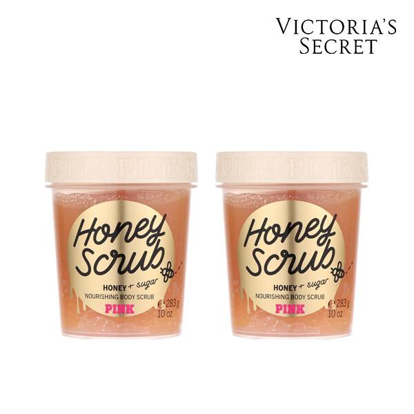 [1+1] Victorias Secret 빅토리아 시크릿 HONEY BODY SCRUB 바디스크럽 300ML (면세점재고 / 해외구매대행 )