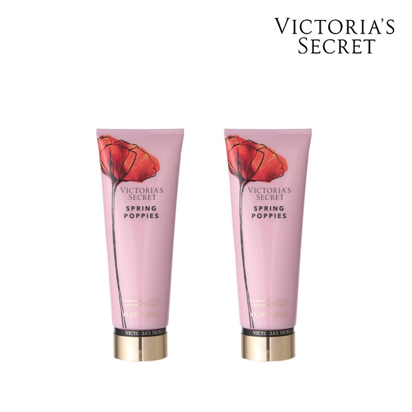 [1+1] Victorias Secret 빅토리아 시크릿 SPRING POPPIES BODY LOTION  로션 236ML (면세점재고 / 해외구매대행 )