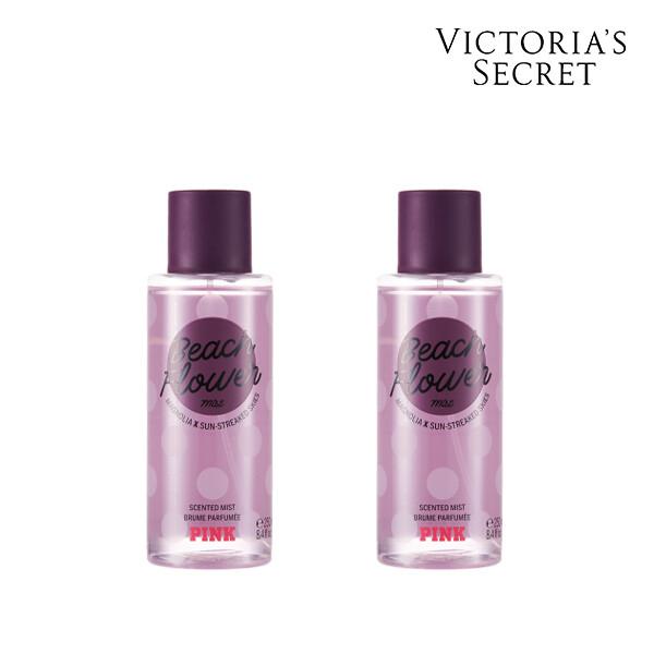 [1+1] Victorias Secret 빅토리아 시크릿 BEACH FLOWER MIST  미스트 250ML (면세점재고 / 해외구매대행)