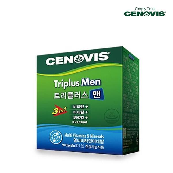 CENOVIS 세노비스 CENOVIS HEAL 트리플러스맨 멀티비타민미네랄 90캡슐[멀티비타민](면세점재고 / 해외구매대행 / 유통기한 12월3일)