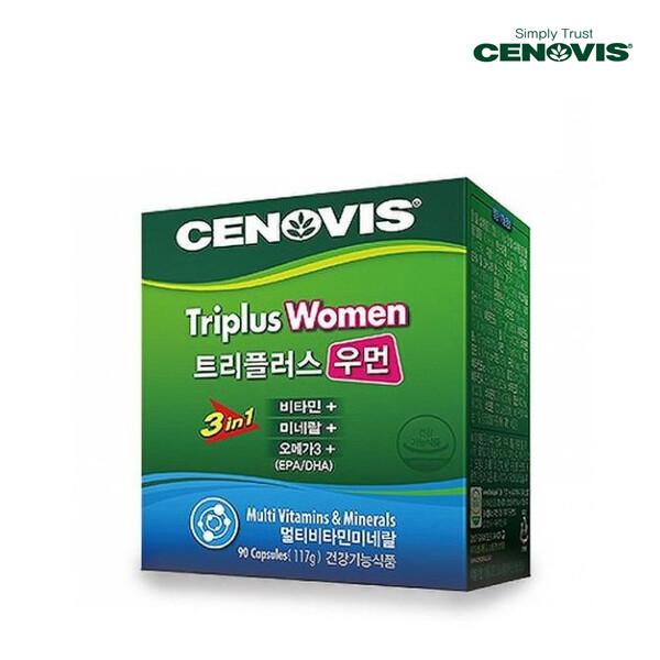 CENOVIS 세노비스 CENOVIS HEAL 트리플러스우먼 멀티비타민미네랄 90캡슐[멀티비타민](면세점재고 / 해외구매대행 / 유통기한 12월3일)