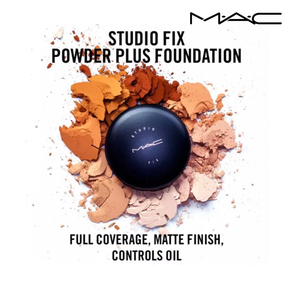 MAC 맥 STFIX PDR + FDN / STUDIO FIX POWDER PLUS FOUNDATION 스튜디오 픽스 파우더 플러스 파운데이션 6color (면세점재고 / 해외구매대행)