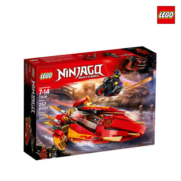 LEGO 레고 Katana V11 닌자 고 카타나 플레임 보트 V11 (면세점재고 / 해외구매대행)
