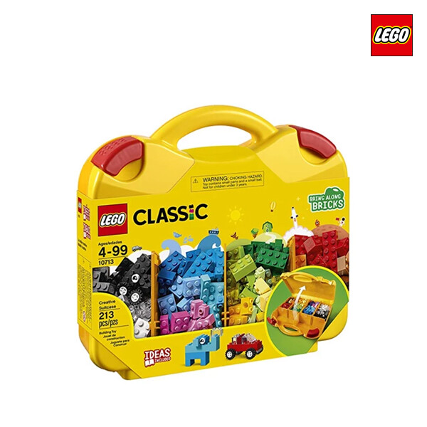 LEGO 레고 Creative Suitcase 클래식 크리에이티브 조립 가방 (면세점재고 / 해외구매대행)