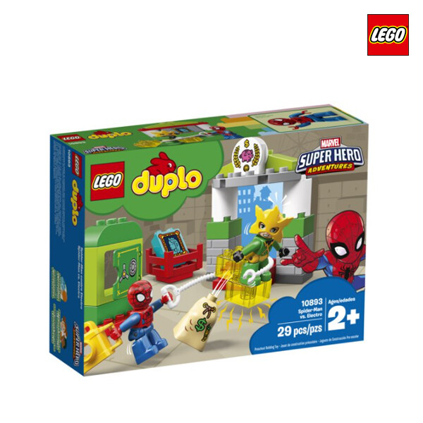 LEGO 레고 Spider-Man vs. Electro 듀플로 스파이더맨 대 일렉트로  (면세점재고 / 해외구매대행)