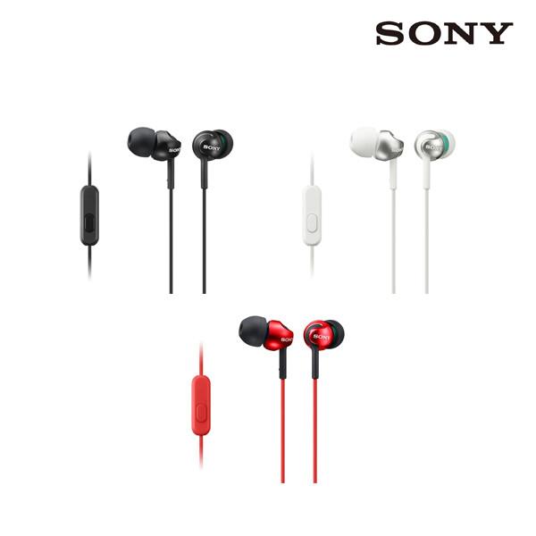 SONY 소니 MDR-EX110 이어폰 3colors (면세점재고 / 해외구매대행)