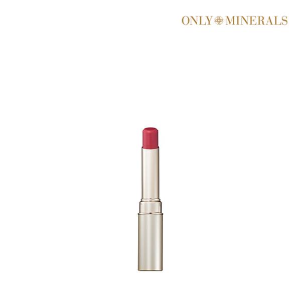 [1+1] ONLY MINERALS 온리 미네랄스 Lip Rouge: Mineral Rouge N 3g 미네랄 루즈 N #Rose Pink (면세점재고 / 해외구매대행 / 유통기한: 21년 07월 31일까지)