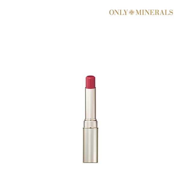[1+1] ONLY MINERALS 온리 미네랄스 Lip Rouge: Mineral Rouge N 3g 미네랄 루즈 N #Pink Beige (면세점재고 / 해외구매대행 / 유통기한: 21년 07월 31일까지)