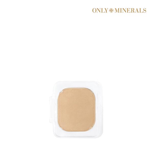 [1+1] ONLY MINERALS 온리 미네랄스 Powder Foundation: Moist Foundation Powder Refill 10g 파운데이션 리필 #Light Ochre (면세점재고 / 해외구매대행 / 유통기한: 21년 07월 31일까지)