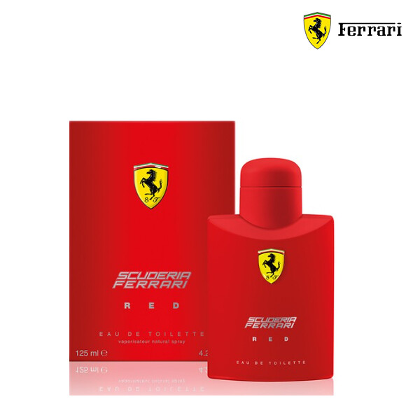 FERRARI 페라리 SCUDERIA RED EDT 125ML (해외구매대행/단독구매/다른 제품과 합포장불가)