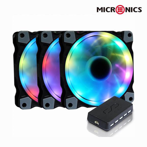 마이크로닉스 MANIC 트윙클 Digital RGB Sync(3팩/컨트롤러)