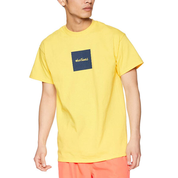 WILD THINGS SQUARE WILD THINGS TEE YELLOW 상의 옐로우