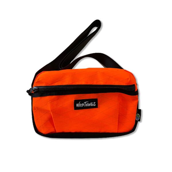 WILD THINGS X-PAC SHOULDER BAG ORANGE 오렌지 숄더백