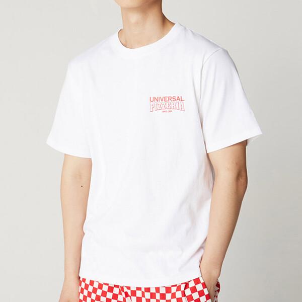 피자 그래픽 코튼 프리미엄 티셔츠 4color