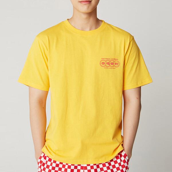 차이니즈 유니폼 스타일 프리미엄 티셔츠 4color