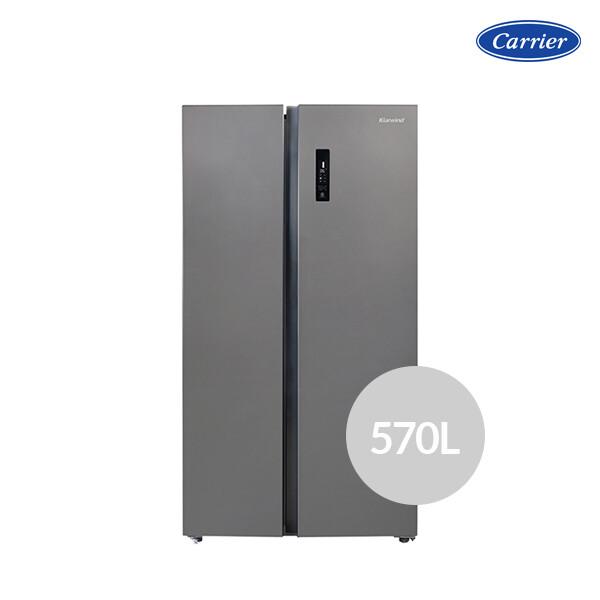 [사전예약~5/11일부터 순차출고!] 캐리어 클라윈드 피트인 CRFSN565MDC (용량 : 570L / 냉장 356L / 냉동 214L / 2도어 / 크기 : 91.2 x 177 x 70.5cm)_리씽크팀