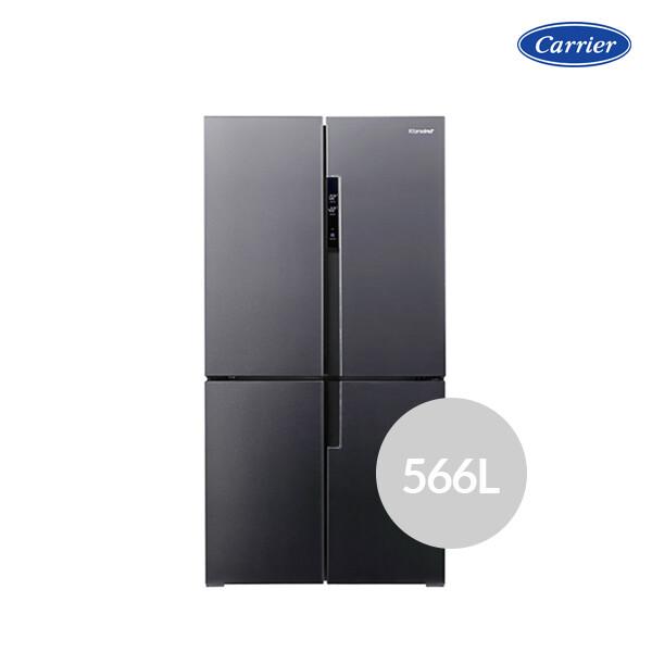 캐리어 클라윈드 피트인 CRF-SN566NFP (용량 : 566L / 냉장 364L / 냉동 202L / 4도어 / 크기 : 91.1 x 183 x 70.6cm)