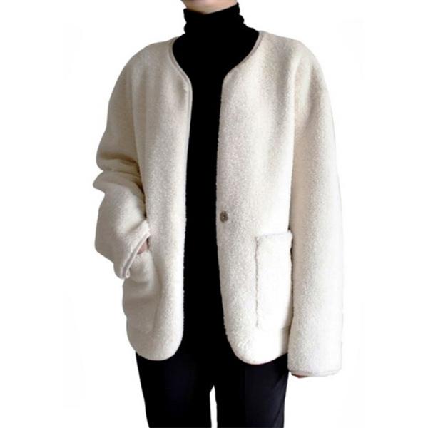 보니스팍스 BONISPAX 여성 셔링 재킷