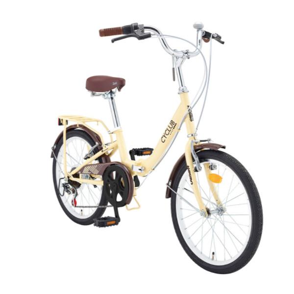 카스모 싸이클럽 접이식 자전거 51cm 20인치 미니벨로 여성용