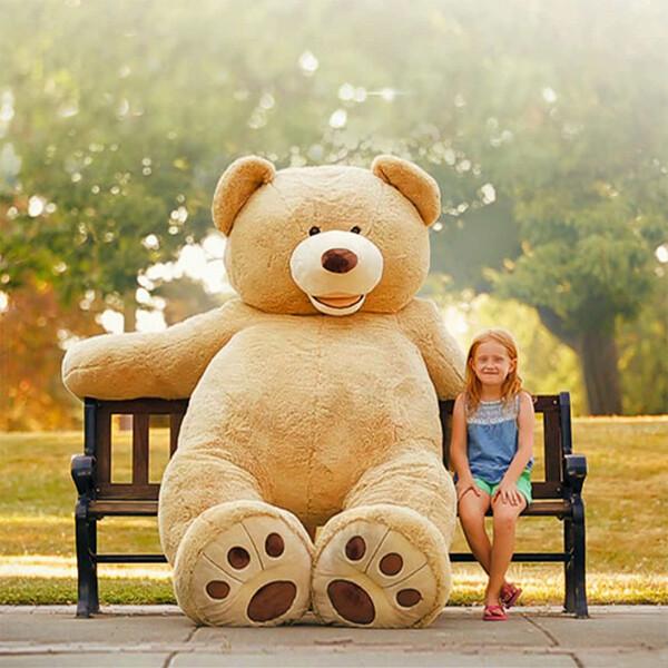 [일산매장 방문수령만가능] 점보 곰인형 2.3m (발송불가-일산매장 방문수령만 가능합니다.)